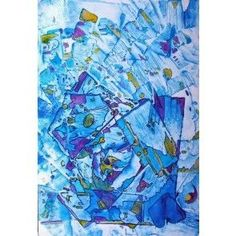 Out of the Blue #abstractart