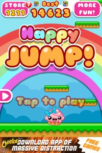 Happy Jump is a really sweet & simple time killer game for Android devices which can be called something in between an arcade runner & jumper.