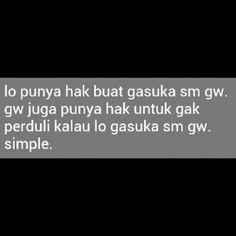 ya gw juga bisa,simplekan