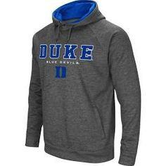 fd4ce9a91c39c Colosseum Men s Duke Blue Devils Grey Fleece Hoodie