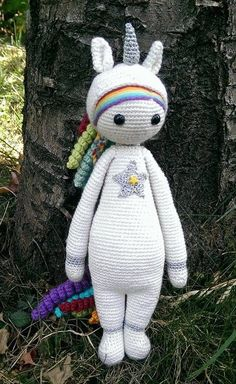Unicorn mod made by PelotineEtTricotin / based on a lalylala crochet pattern