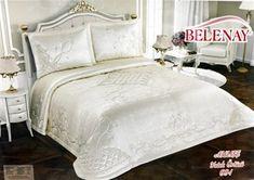 Elif Yatak Örtüsü Çift Kişilik Fransız Güpürlü Vizon Bed, House, Furniture, Home Decor, Decoration Home, Stream Bed, Home, Room Decor, Home Furnishings