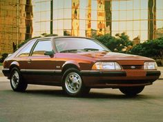 1987 ford tempo | ... Ford Mustang / Форд Мустанг (1987 - 1993) Купе