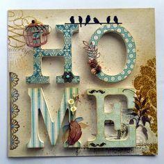 Marco Home II Decoupage Jars, Decoupage Vintage, Frame Crafts, Wood Crafts, Paper Crafts, Heart Crafts, Wooden Hearts, Diy Arts And Crafts, Clay Art