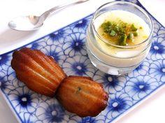 Dessert libanais +madeleine menthe/miel