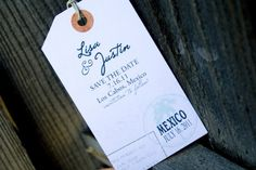 combining tags and calenders for save the dates?