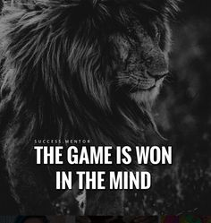 As in this game call life in experiences that forces our hand coming from the mind .The mind is the battle field and until the game is won in the mind , it brings much suffering from many negative emotions ..all coming from the mind - Merle B