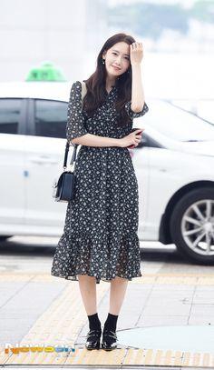 Girls' Generation YoonA airport fashion at Incheon Airport [170722]