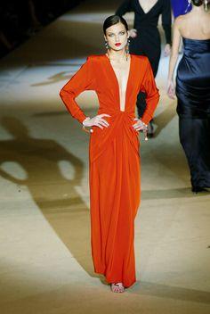 YSL Haute Couture ss 2002.