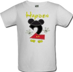 Birthday Mickey Mouse Clubhouse Number Shirt