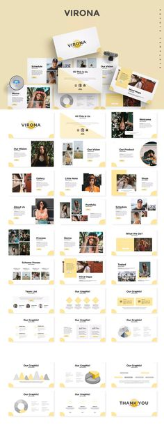 Virona - Keynote Template by aqrstudio on Envato Elements Powerpoint Examples, Powerpoint Free, Business Powerpoint Templates, Keynote Template, Powerpoint Designs, Professional Presentation, Presentation Slides, Presentation Templates, Keynote Design