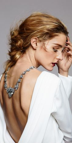 """Olivia Palermo x BaubleBar. """"Revamp classic designs with unexpected silhouettes."""""""