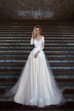 Vestidos de novia con falda voluminosa 2017: Luce como un auténtica princesa Image: 27