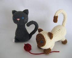 Free crochet pattern : Kitten Crochet ... by Amy Gaines | Crocheting Pattern