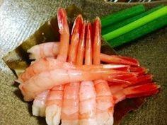 甘エビ昆布締めの画像 Sashimi, Asparagus, Green Beans, Carrots, Vegetables, Junk Food, Japanese Food, Ethnic Recipes, Cheer