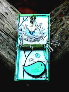 Refrigerator Magnet  Repurposed Upcycled by TeriClothCreations, $15.00