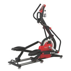 The Spirit Fitness CG800 E-Glide is dedigned for groups/classes or individual that like to create their own workouts scenario. The piece of exercise equipment will appeal to runners and cyclists as a way to cross train that is full weight bearing, without the impact.