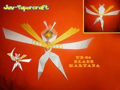 Paperized: Pokemon: Kartana (UB-04: Blade) Papercraft