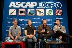 """Making it"" in Today's Music Business panelists CD Baby's Brian Felsen and Kevin Breuner, Rumblefish's Paul Anthony and ASCAP's Jason Silberman"