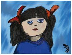 """Ilustración realizada para Newtech International, cuento infantil: """"No me gusta nada"""". Una pequeña variación de la ilustración original."""