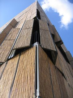 bamboo by Ir. Detail Architecture, Bamboo Architecture, Vernacular Architecture, Amazing Architecture, Security Architecture, Computer Architecture, Building Architecture, Bamboo Building, Natural Building