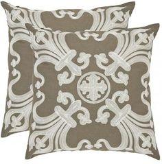home decoratorscom collette pillow set of 2 this decorative pillow evokes european wallpaper - Home Decoratorscom
