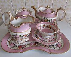 Tea Sets Vintage, Vintage Dishes, Tea For One, Tea Art, Tea Service, Coffee Set, Decoration Table, Afternoon Tea, Dinnerware