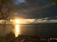 Lake Champlain Sunset from Grand Isle, Vermont
