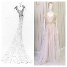 Vestido de novia para @Bounty Atelier