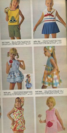 All sizes   1966 Spiegel catalog girl's outfits   Flickr - Photo Sharing!