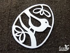 Velikonoce | EVIN ATELIÉR Polymer Clay Owl, Paper Art, Paper Crafts, Scroll Saw Patterns Free, Funky Jewelry, Little Birds, Kirigami, Holidays And Events, Paper Cutting