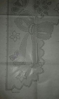 Lace Knitting Stitches, Crochet Carpet, Filet Crochet Charts, Crochet Curtains, Bargello, Holidays And Events, The Hobbit, Pattern, Crochet Home Decor