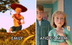 (Credit: Pixar) OMG MInd Blown.... Jessie's owner Emily... could she be Andy's Mum?????? So cool well done Pixar & Disney