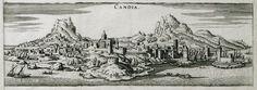 1669 Άποψη του Χάνδακα. - PALMER, Roger, Earl of Castlemaine - ME TO BΛΕΜΜΑ ΤΩΝ ΠΕΡΙΗΓΗΤΩΝ - Τόποι - Μνημεία - Άνθρωποι - Νοτιοανατολική Ευρώπη - Ανατολική Μεσόγειος - Ελλάδα - Μικρά Ασία - Νότιος Ιταλία, 15ος - 20ός αιώνας