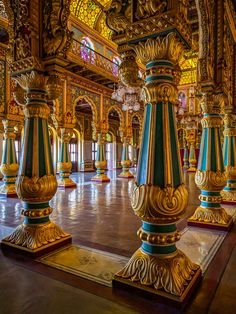 Solve Inside Mysore Palace, India jigsaw puzzle online with 300 pieces Temple Architecture, Classic Architecture, Ancient Architecture, Beautiful Architecture, Sustainable Architecture, Landscape Architecture, Mysore Palace, Architect Jobs, Palace Interior