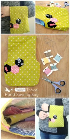 Carry-On Crafter Bag - Learn how to make a bag with this free tote bag DIY.