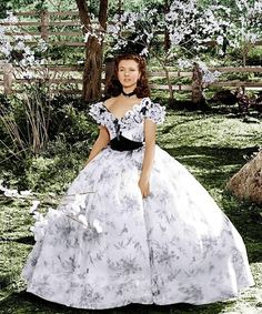 Vivien Leigh as Scarlett O'Hara in Gone With the Wind - 1939