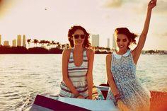 Sabrina Nait & Nicole Trunfio for Free People May 2012 Catalogue
