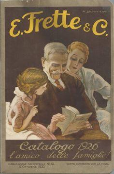 Frette - Catalogo Generale n° 62 del 1925 - Dudovich - Telerie Abiti Talari Casa