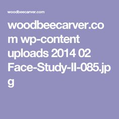 woodbeecarver.com wp-content uploads 2014 02 Face-Study-II-085.jpg