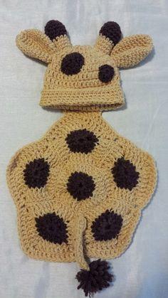 Crochet Giraffe Newborn Photo Prop Girraff by RenegadesCreations, $25.00