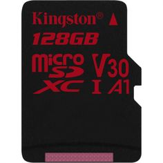 Kingston 64 Gb Micro Sdhc Uhs-i Speed Class 3 Memory Card With Full Size Sd Adapter - Black Kingston Technology, Usb Charging Station, Flash Memory Card, Printer Scanner, Digital Camera, Ebay, Canvas, Confident, Memories