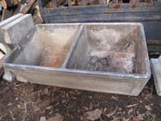 Sinks Vintage Concrete Laundry Tub A 350