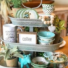 Tray Styling, Styling Tips, Coffee Today, Cottages And Bungalows, Magnolia Market, Spring Home Decor, Me Time, Dinner Tonight, Cottage Style