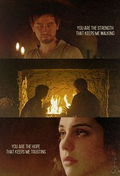 Mary and Bash Reign Bash And Mary, Reign Mary, Mary Queen Of Scots, Queen Mary, Mary Stuart, Serie Reign, Francis Of France, Isabel Tudor, Reign Quotes