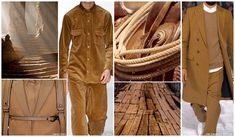 MENSWEAR TOP 10 COLOR TRENDS F/W 2015-16. FASHION SNOOPS SADDLE BROWN (Landscape Tones)