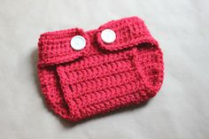 Free crocheted nappy cover pattern.