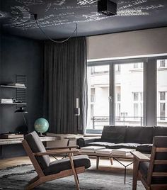 Dark and luxurious place in Berlin - via cocolapinedesign.com