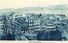 Rúa de Urzaiz e o barrio da estación