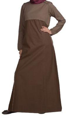 Chestnut Abaya